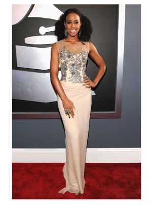Kelly Rowland 2012 Grammy Awards