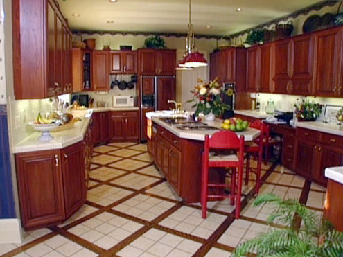 kitchen ceramic floor