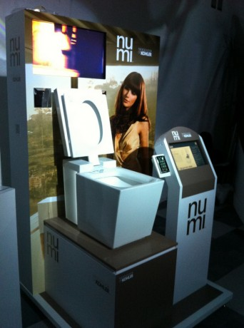 kohler numi toilet at wired store