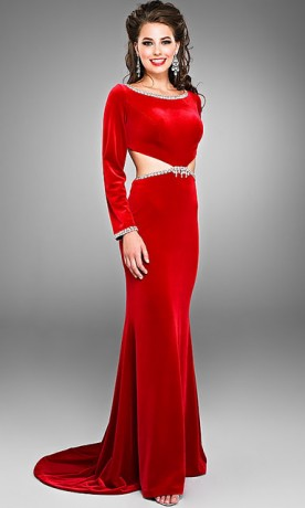 Long evening dresses 2012 women