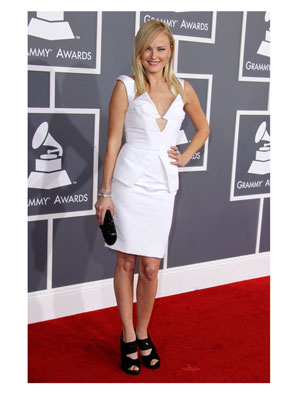 Malin Akerman 2012 Grammy Awards