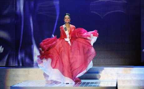 Miss USA 2012, Olivia Culpo, competes in the 2012 Miss Universe Pageant