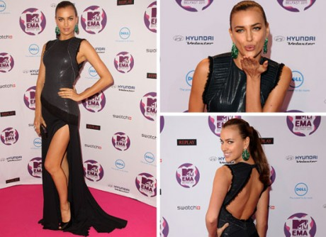 2011 MTV Europe Music Awards Irina Shayk