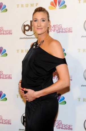 Professional beach volleyball player and pageant judge Kerri Walsh Jennings