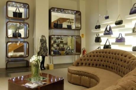 Luxurious interior shop high class design