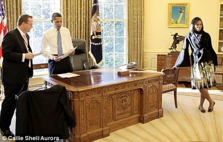 Barack Obama's Office look