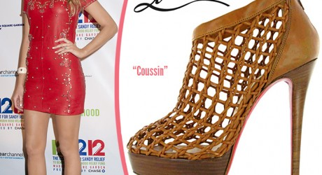 Blake Lively Christian Louboutin Coussin booties