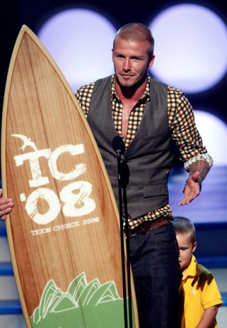 David Beckham 2008 Teen Choice Awards