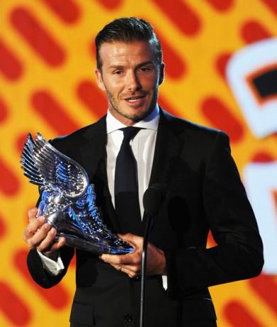 David Beckham Award show