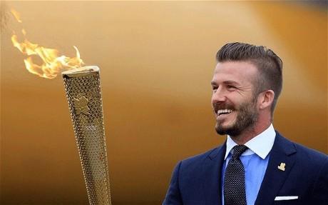 David Beckham, Olympian