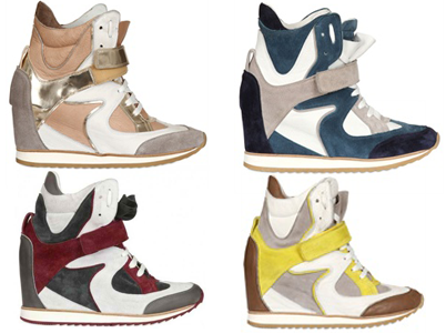 Eleana Iachi wedge sneakers
