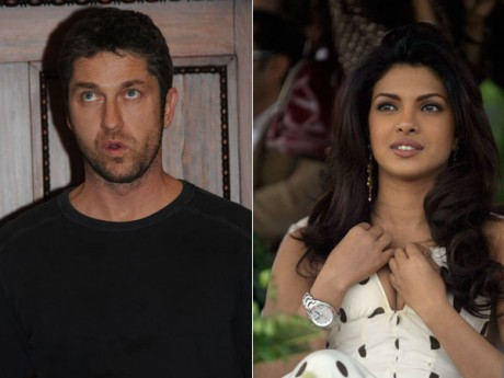 Gerard Butler's girlfriend Indian beauty Priyanka Chopra