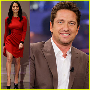 Gerard Butler Talks Current Girlfriend on 'Tonight Show