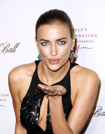 IRINA SHAYK at Angel Ball