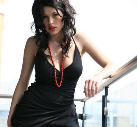 Iga Wyrwal Black Dress Style