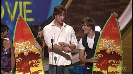 Jared Padalecki at the 2007 Teen Choice Awards