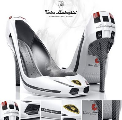 Lamborghini Gallardo Superleggera high heel shoe