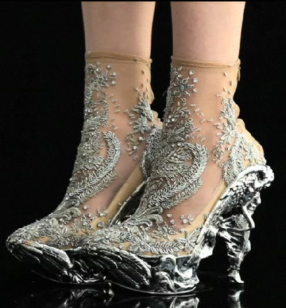McQueen shoes via Show Studio