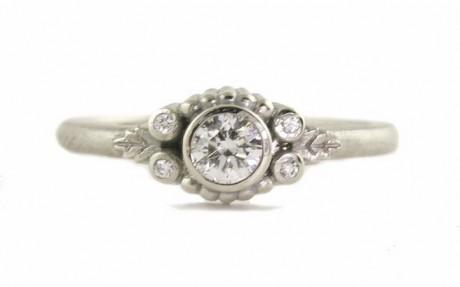 Megan Thorne Wood Nymph Diamond Engagement Ring