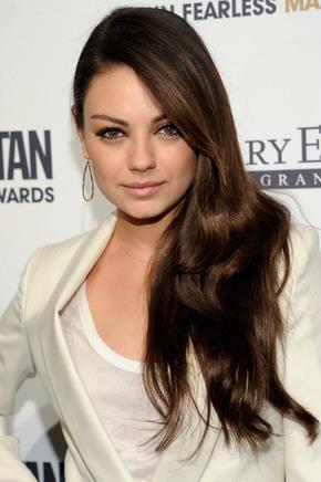 Mila Kunis Hair Style