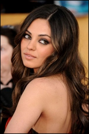 Mila Kunis Long Hair