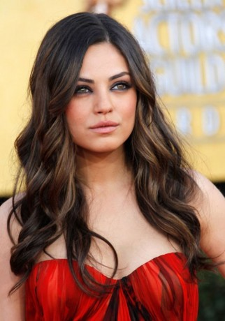 Mila Kunis Red Dress