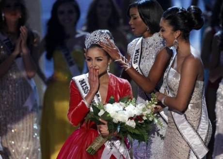 Miss USA, Olivia Culpo, Wins the 2012 Miss Universe
