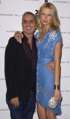 Opening Party For Alessandro Dell'Acqua's First U.S. Flagship Store