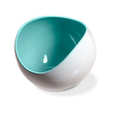 Unique Vase with Blue White Combination