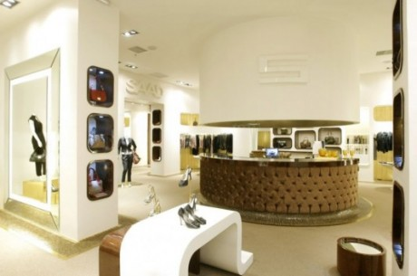 Elegant interior shop high class