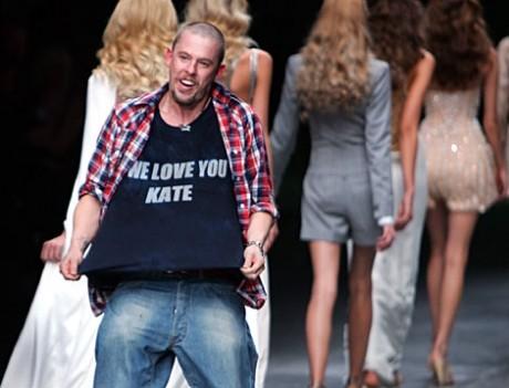 hottest British designer, Alexander McQuee