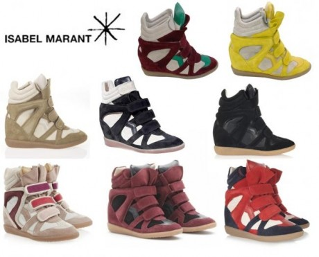 isabel Murant wedge sneakers