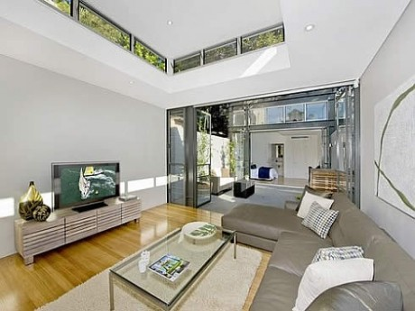 Terrace house in sydney
