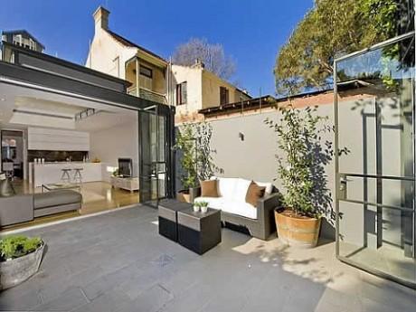 Terrace house in sydney