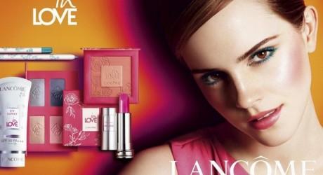Emma Watson Lancôme In Love' Beauty Collection