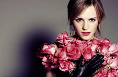 Emma Watson's shoot to promote the spring 2013 Lancôme
