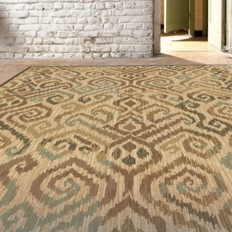 Kamira rugs are woven in stylish,