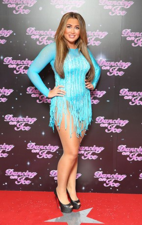 Sexy LAUREN GOODGER at Dancing on Ice Photocall