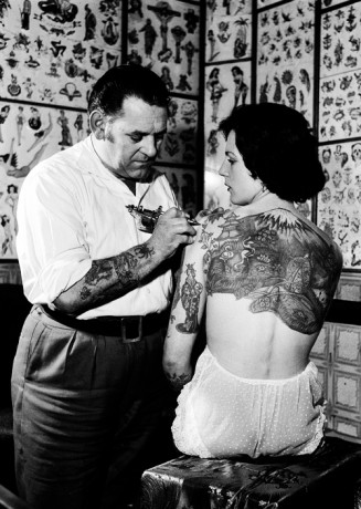 Marilyn Monroe & Liz Taylor's Tattoos