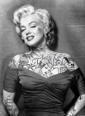 Marilyn Monroe Sexy Tattoos