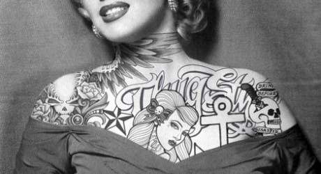 Marilyn-Monroe-Tattoos