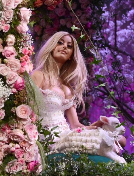 ZAHIA DEHAR at Zahia Haute Couture Show
