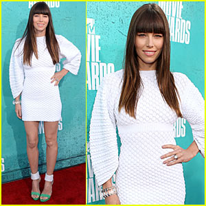 jessica biel mtv movie awards 2012