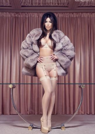 kim kardashian lingerie ad in factice
