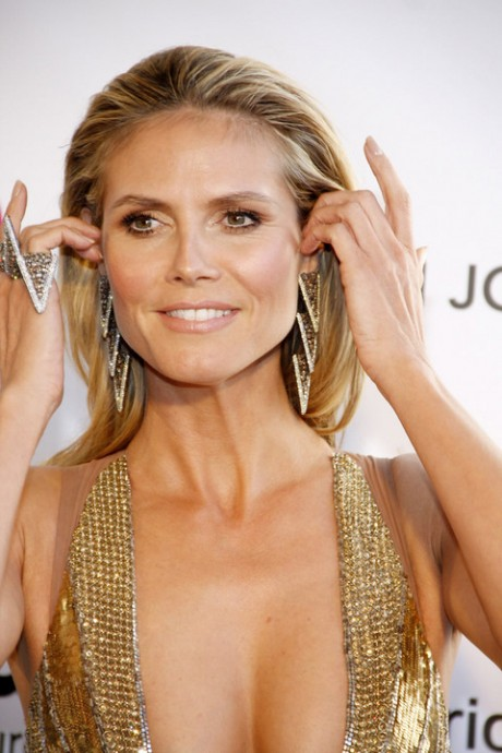 Heidi Klum Beautiful Dress