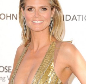 Heidi Klum Hot Dress Oscar Party
