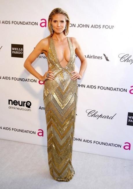 Heidi Klum Oscar Party