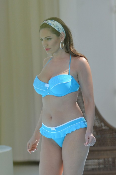 KELLY BROOK in BIkini