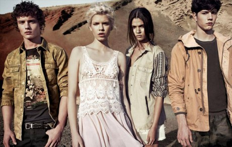 Pull & Bear Spring Summer 2013 collection campaign