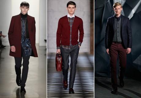 ESQ fashion week color trend burgundy 2013
